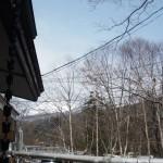 松川荘の朝