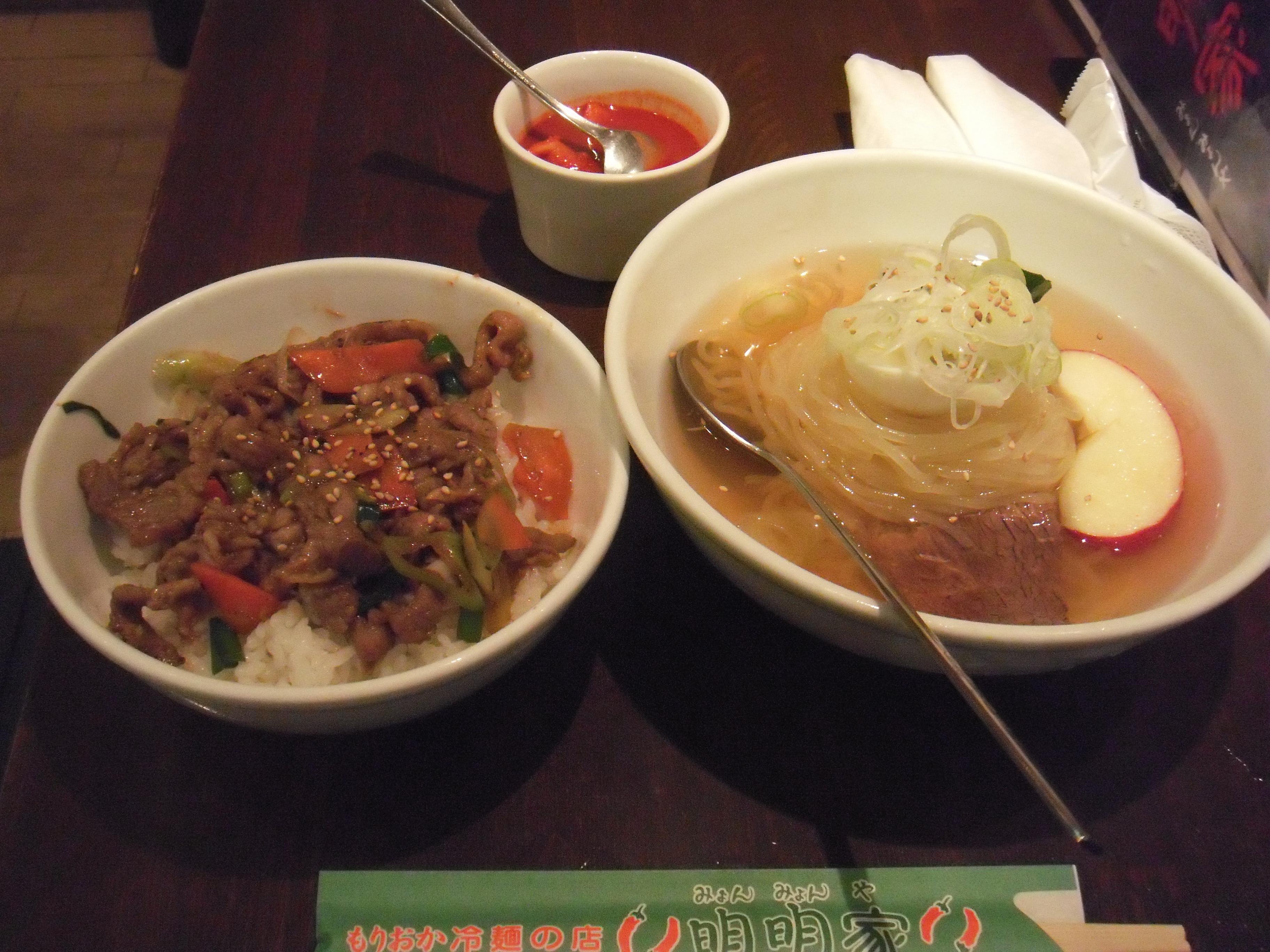 「盛岡冷麺」  (岩手県盛岡市ほか)