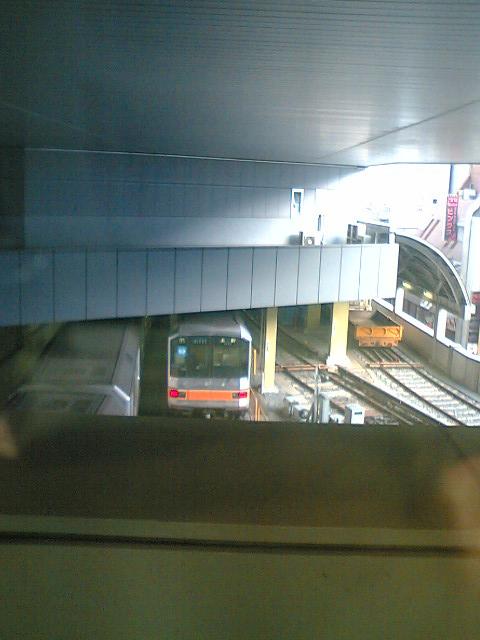 渋谷マークしティーの地下鉄車庫