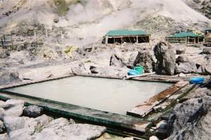 玉川温泉 360度全開の露天風呂