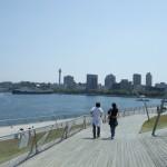 横浜大桟橋ウッドデッキ