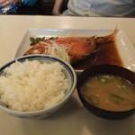丸天 金目煮魚定食