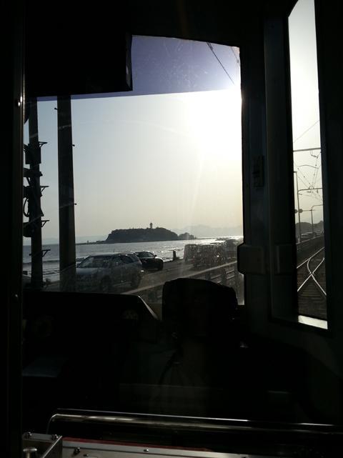 江ノ電の展望