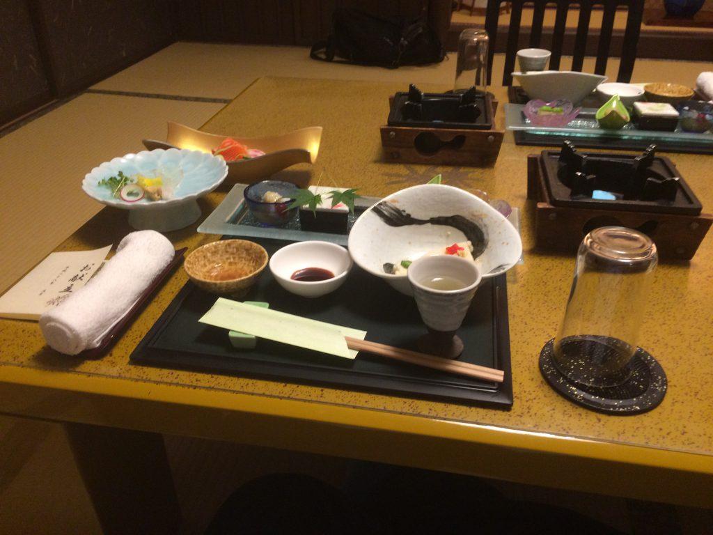 宿のお食事