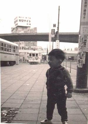 昭和40年代渋谷駅