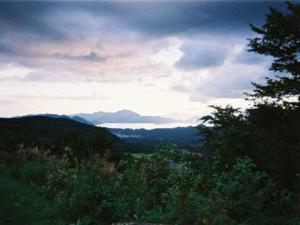 Vol.07「夕暮れの田沢湖」<br />  (2002年夏;秋田県田沢湖町)